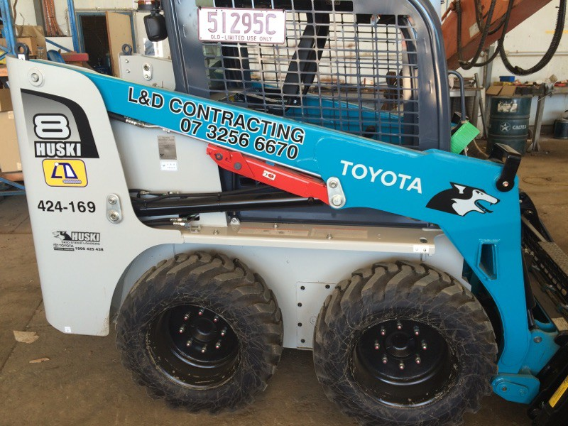 TOYOTA SKID STEER 30-5SDK8